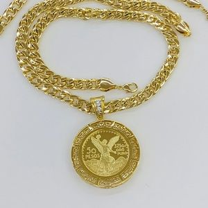 Other - Centenario pendant with chain and bracelet set